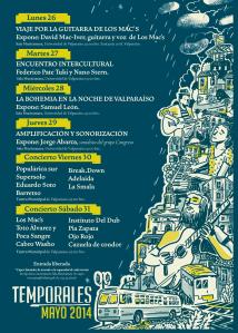 programa temporales 2014