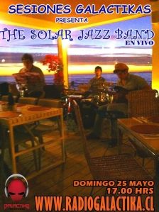 Sesiones Galactikas con The Solar jazz band