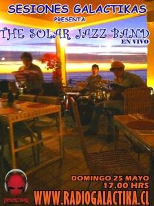 Sesiones Galactikas con The Solar jazz band
